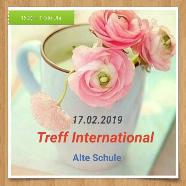 Treff International am 17.02.2019