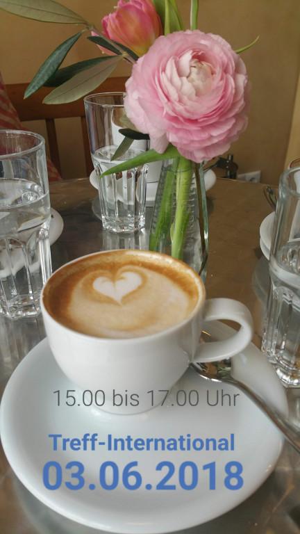"""Herzlich Willkommen im """"Treff- International"""""""