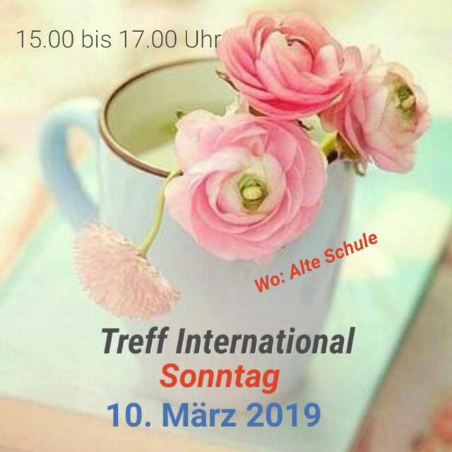 Treff International am 10.03.2019