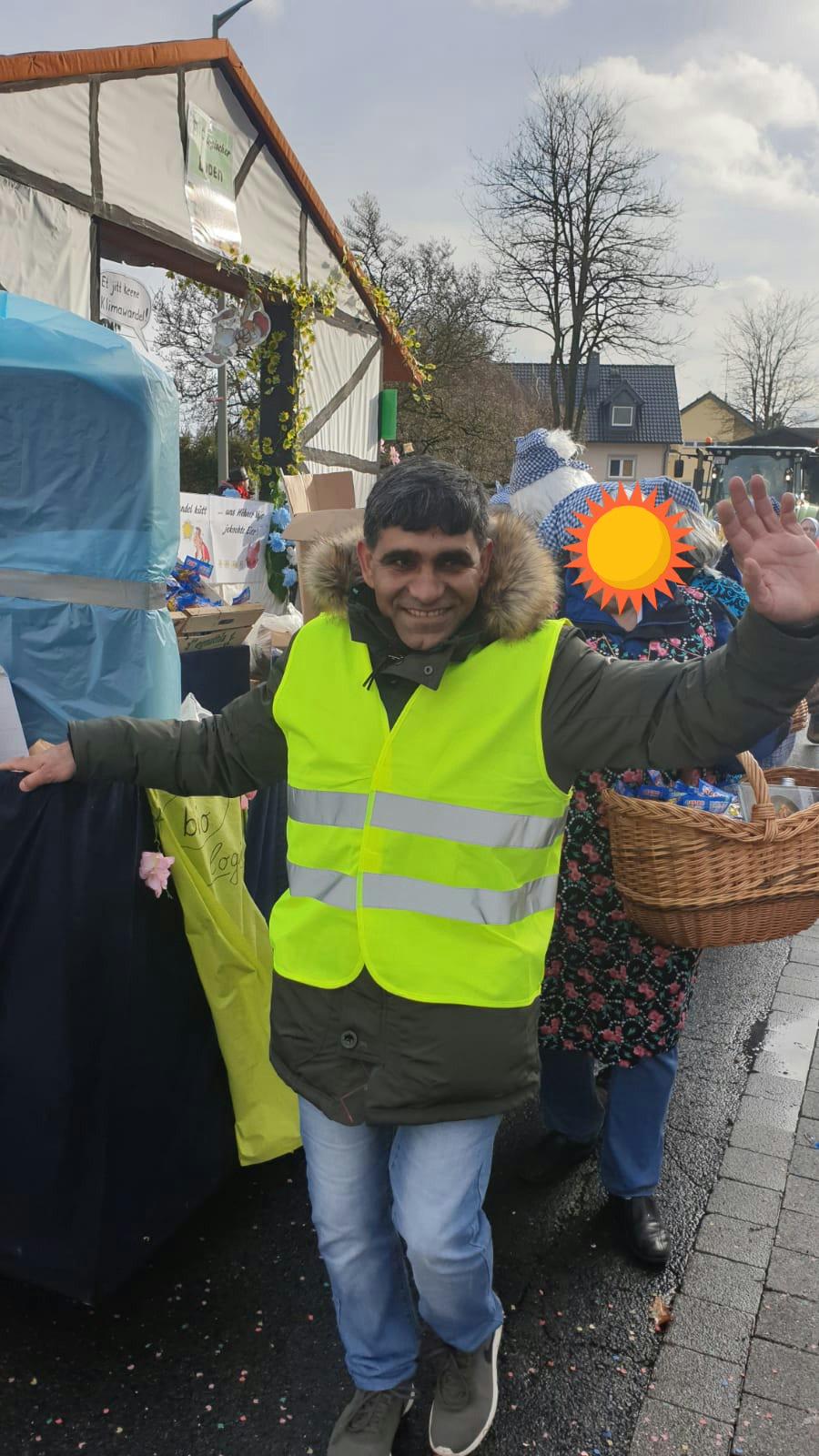 """Ali ist nicht nur ein """"Wagenengel"""" zu Karneval"""