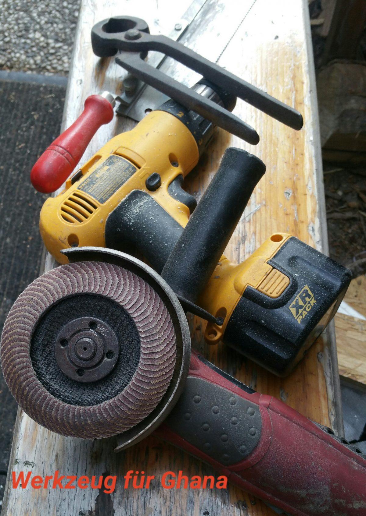 Werkzeug für Ghana