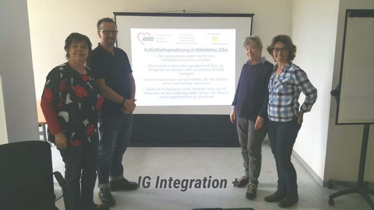 IG Integration auf Fortbildung