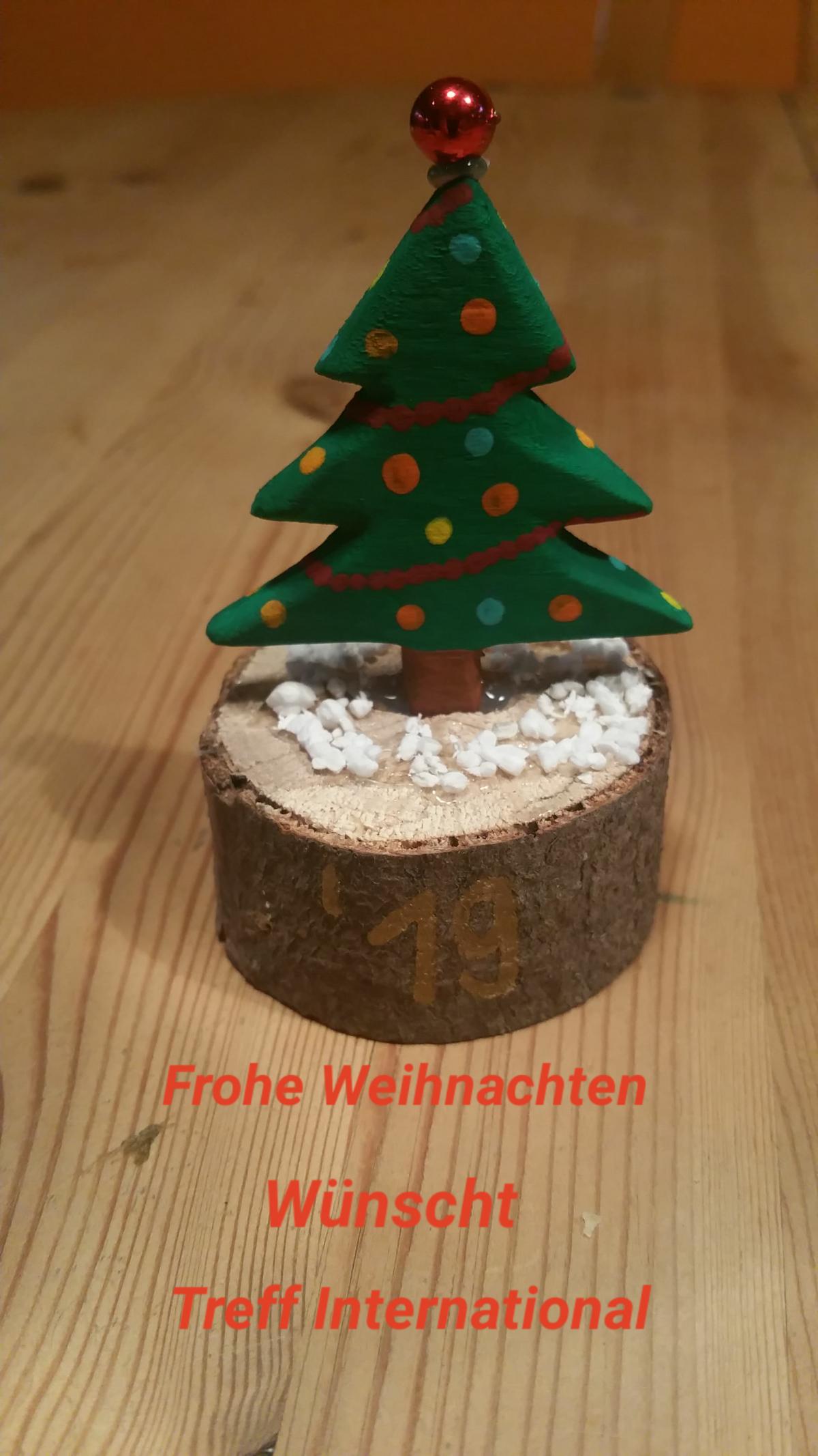 Frohe Weihnachten wünscht das Team der IG Integration +